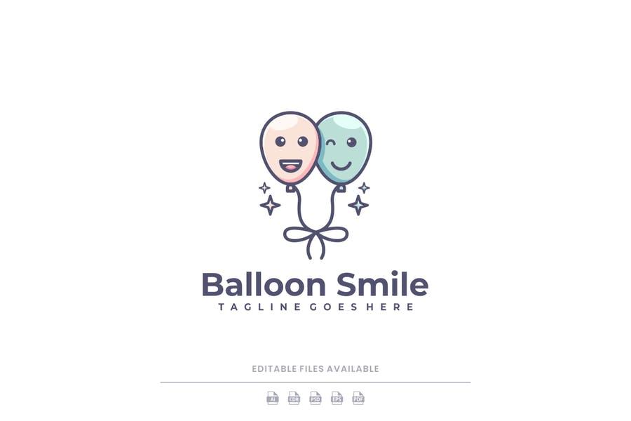 Balloon Smile Identity Design