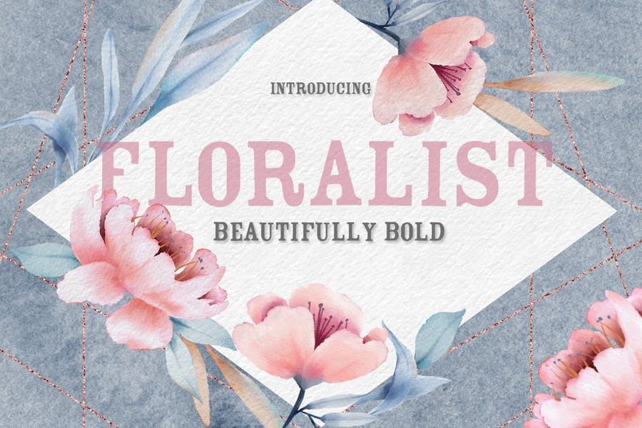 Beautiful Florist Font
