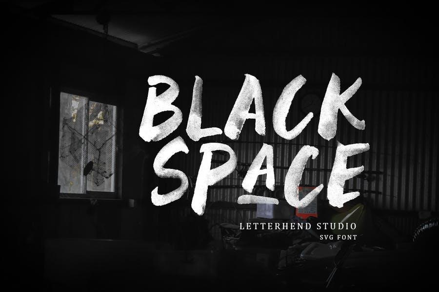 Black Space Fonts