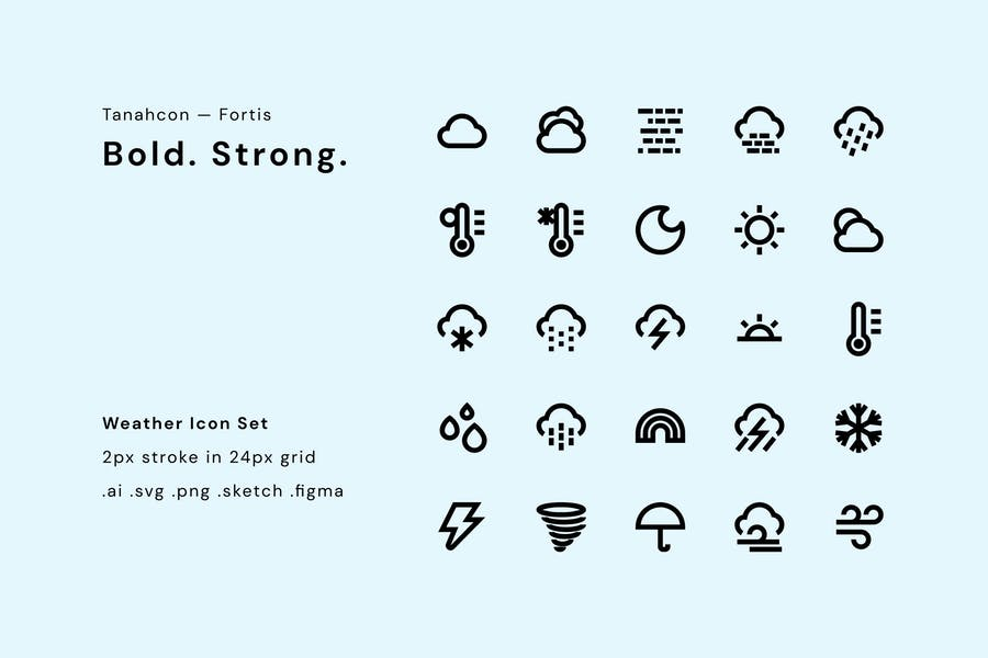 Bold and Strong Vectors Set