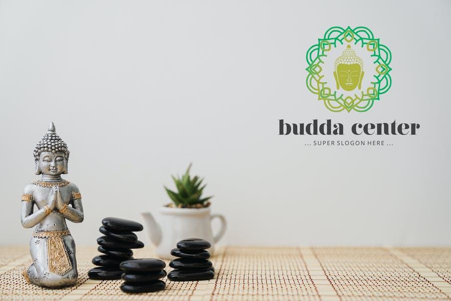 Budda Center Logo Design