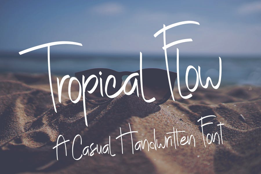 Casual Handwritten Flow Fonts