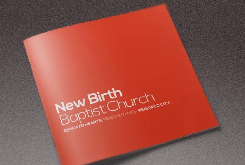 Church Conference Brochure Design