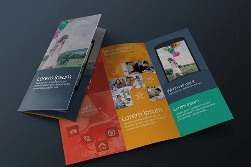 Clean Business Brochure Template PSD
