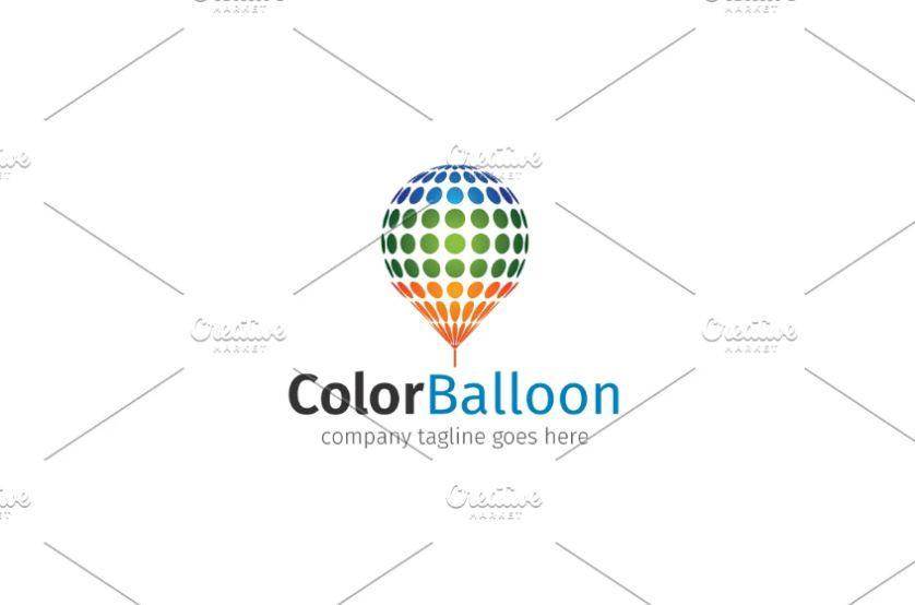 Colorful Balloon Identity Design