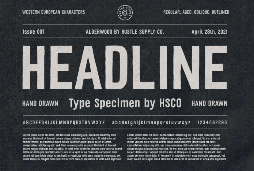Condenced Headline Fonts