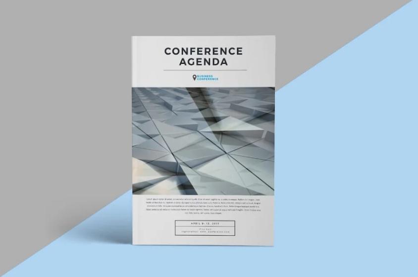 Conference Agenda Template PSD