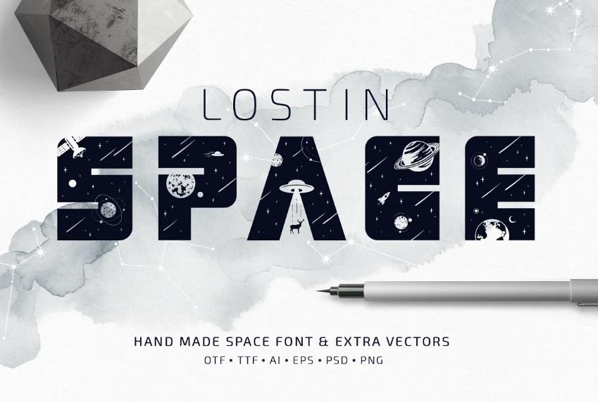 Cosmos Style Typeface