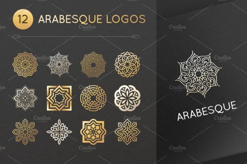 Creative Arabesque LOgo Design