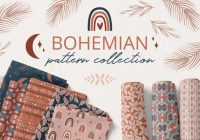 Bohemian pattern Collections