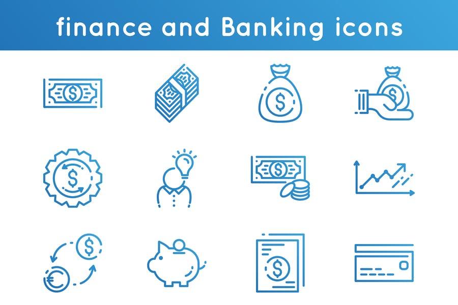 Creative Finance Icons