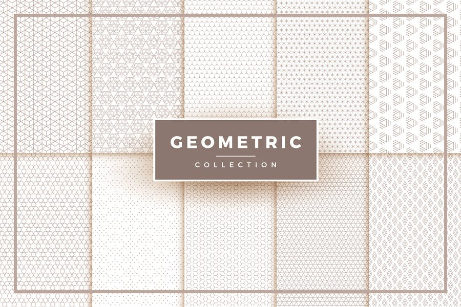 Creative Geometric Pattern Collection