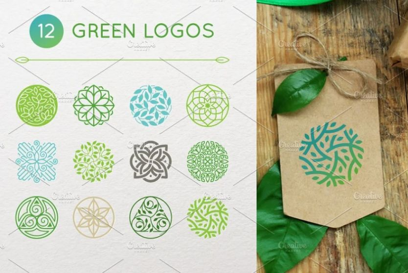 Creative Green Logo Designs