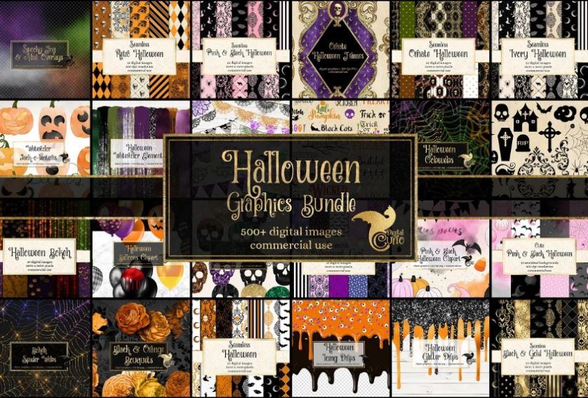 Creative Halloween Graphics Bundle