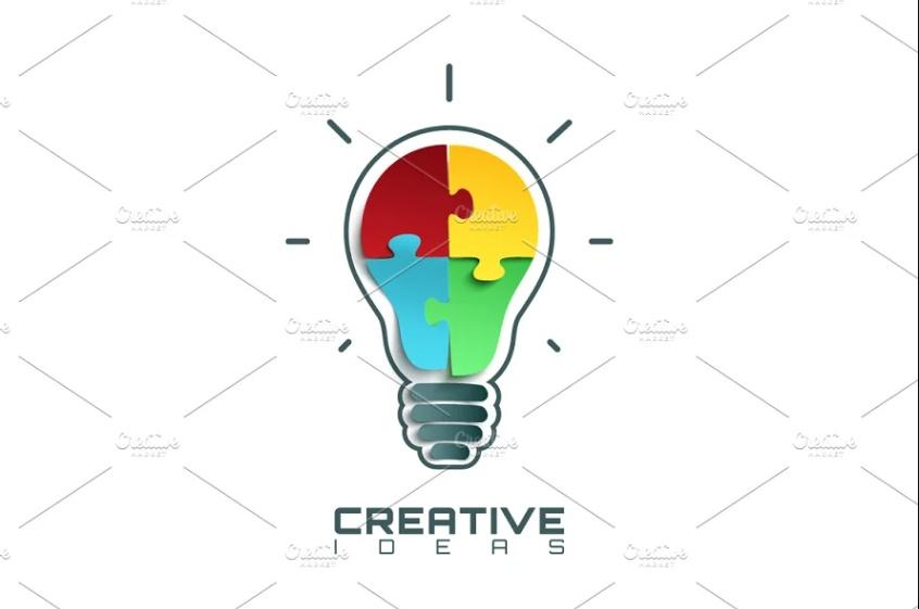 Creative Idea Identity Design