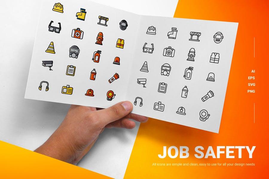Creative Job Safety Icons