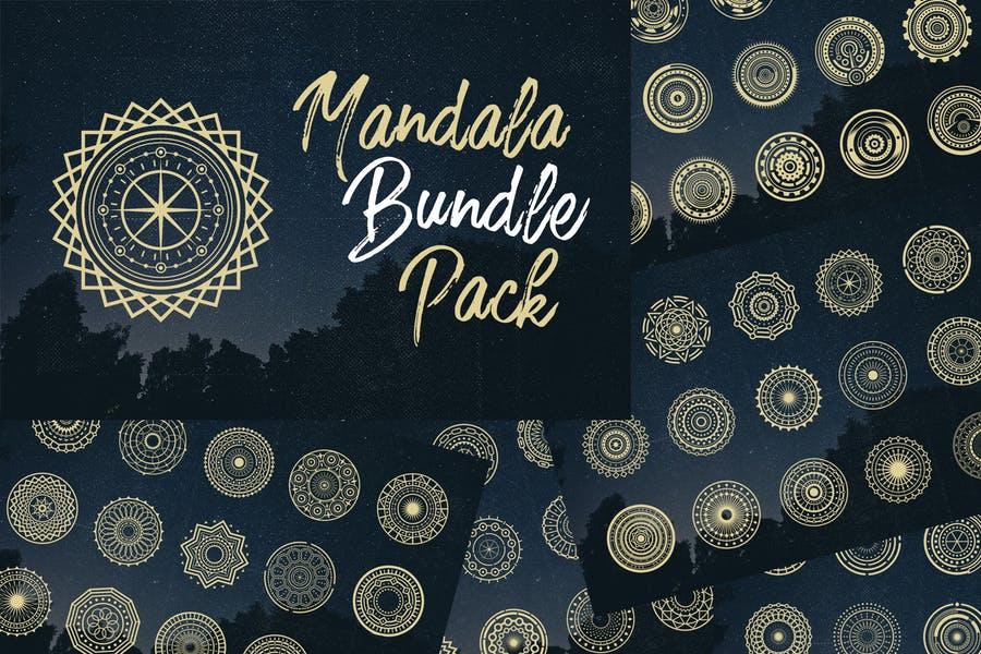 Creative Mandala Bundle Pack