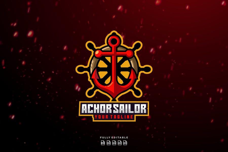Creative Pirate Logo Template