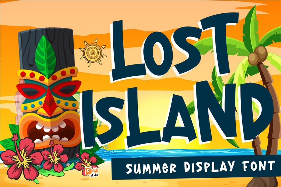 Creative Summer Display Fonts