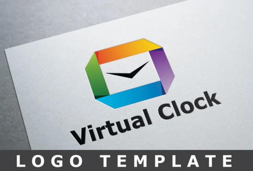 Creative Virtual clock Identity
