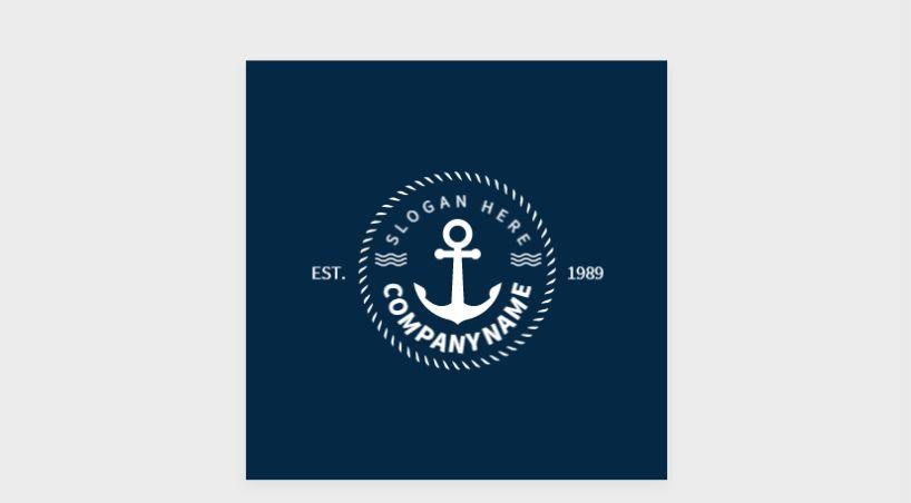 Customizable Anchol Logo Design