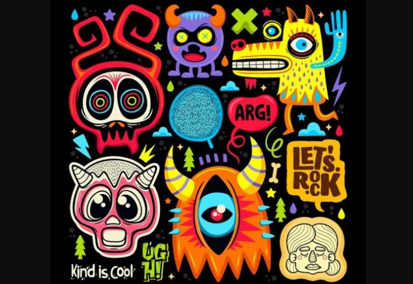 Cute Doodle Vector Icons