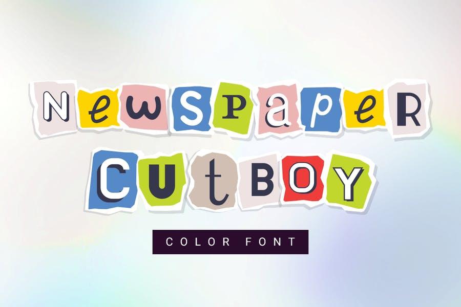 Cute Newspaper Fonts