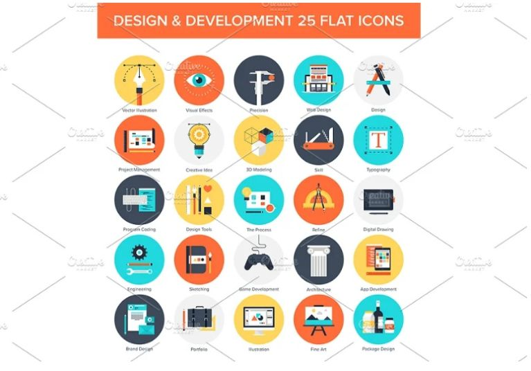 Design and Development Icons