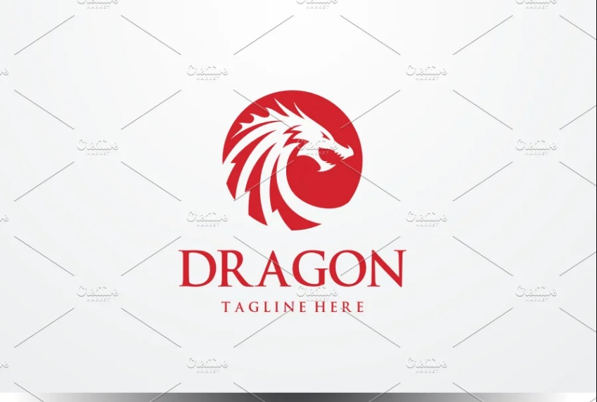 Dragon Head Identity Design
