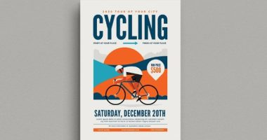 Cycling Flyer Template