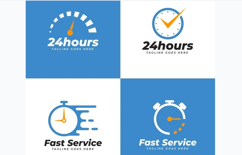 Fast Service Logo Design