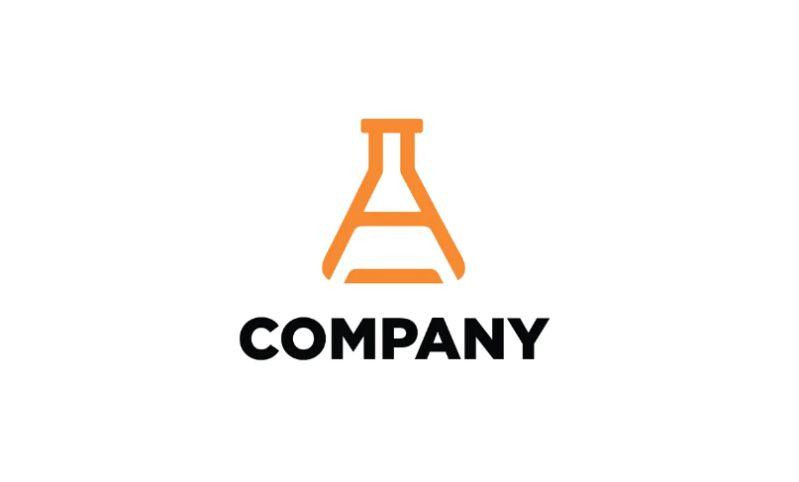 Flask Logo Identity Design