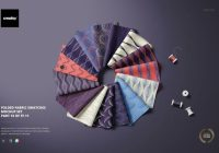 Fabric Swatches Mockup PSD