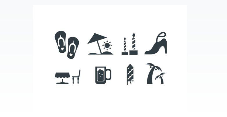 Free Beach Vector Icons