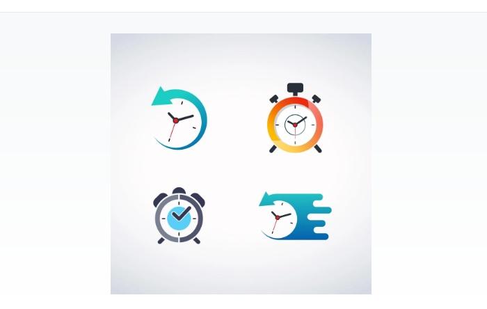Free Clock Vector Design