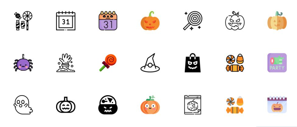 Free Colored Icons Set