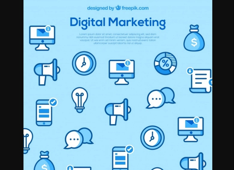 Free Digital Marketing Icons Design