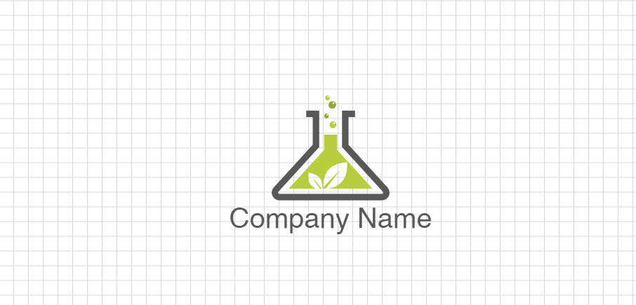 Free Flask Logo Design Idea