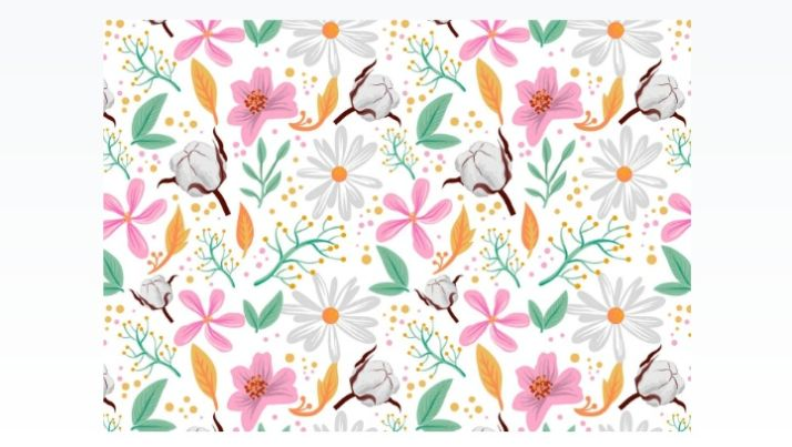 Free Floral Pattern Vectorn