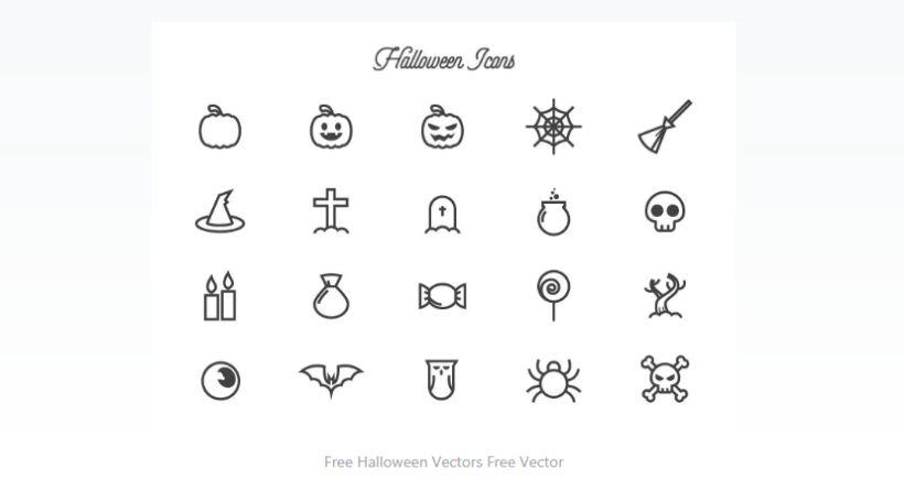 Free Halloween Vector Elements