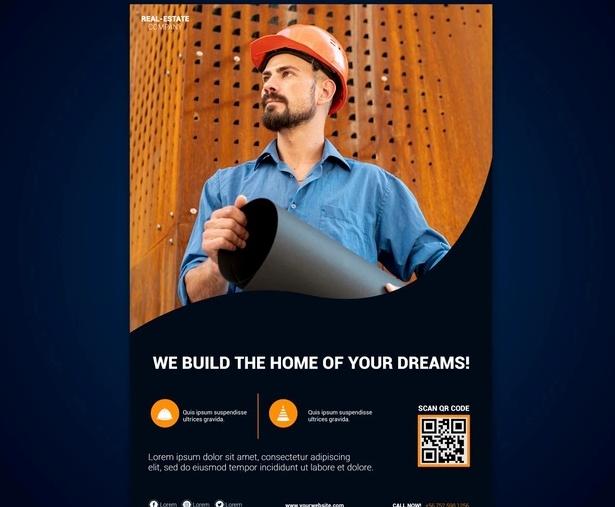 Free Handyman Flyer Design