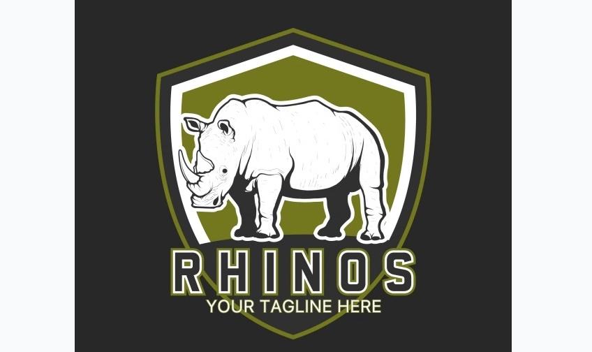 Free Rhino Logo Template