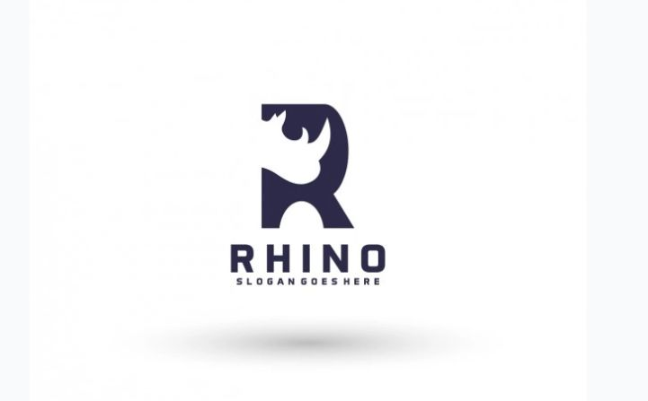 Free Rhinocerios Logo Design