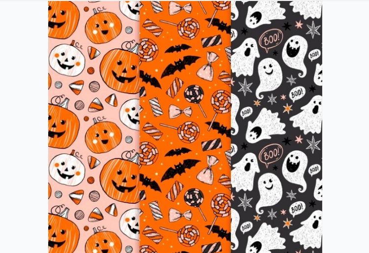 Free Scary Pattern Designs