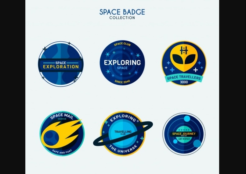 Free Spacer Badges Design