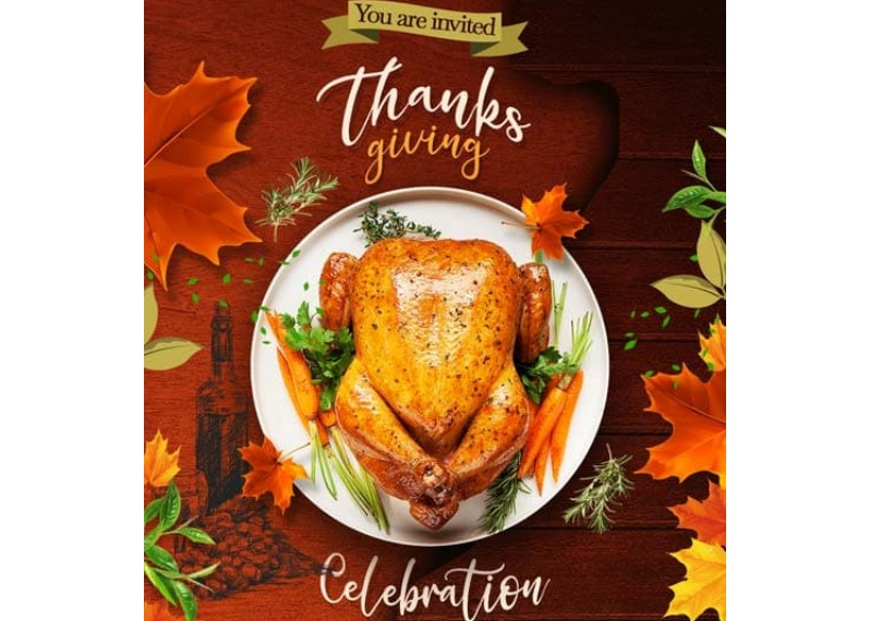 Free Thanksgiving Day Poster