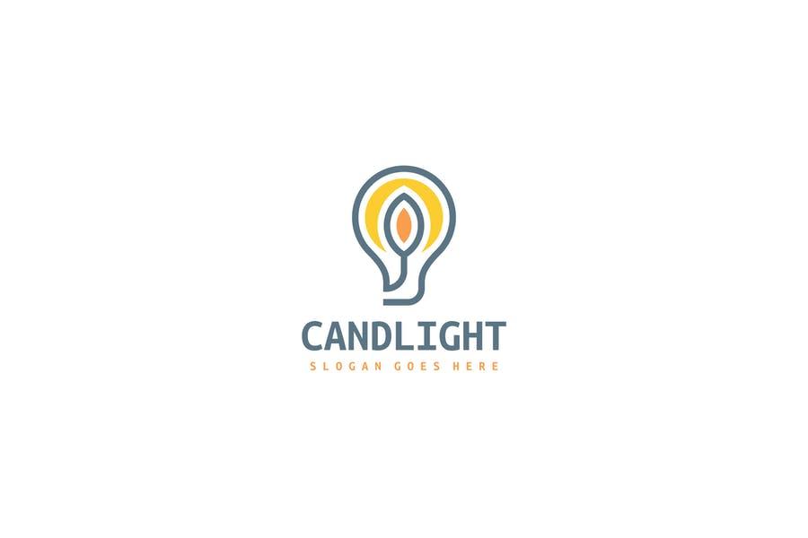 Fully Editable Light Bulb Idea