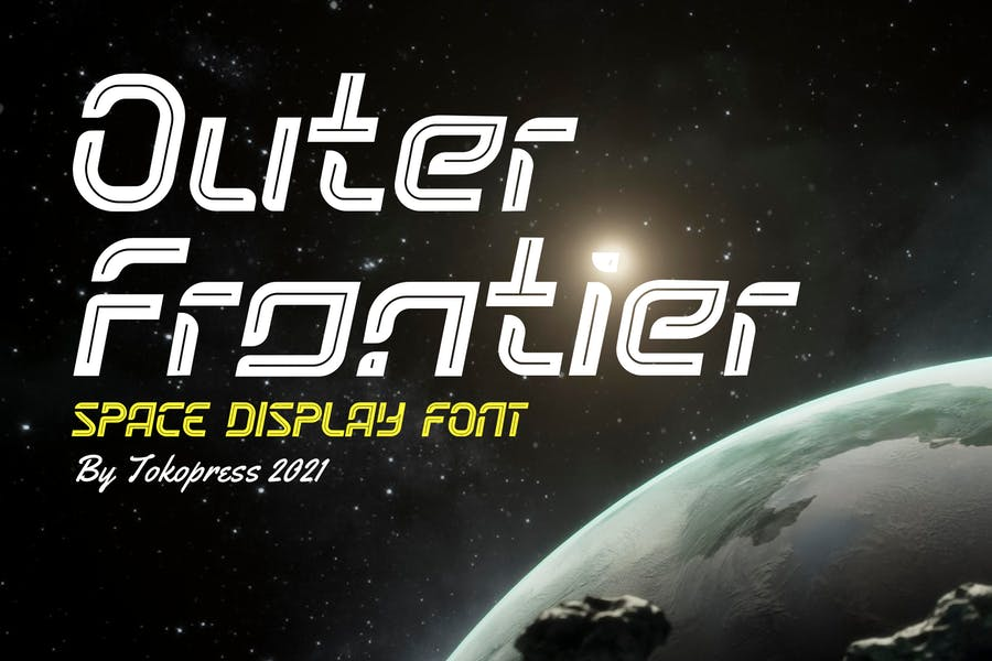 Gaming Style Typeface