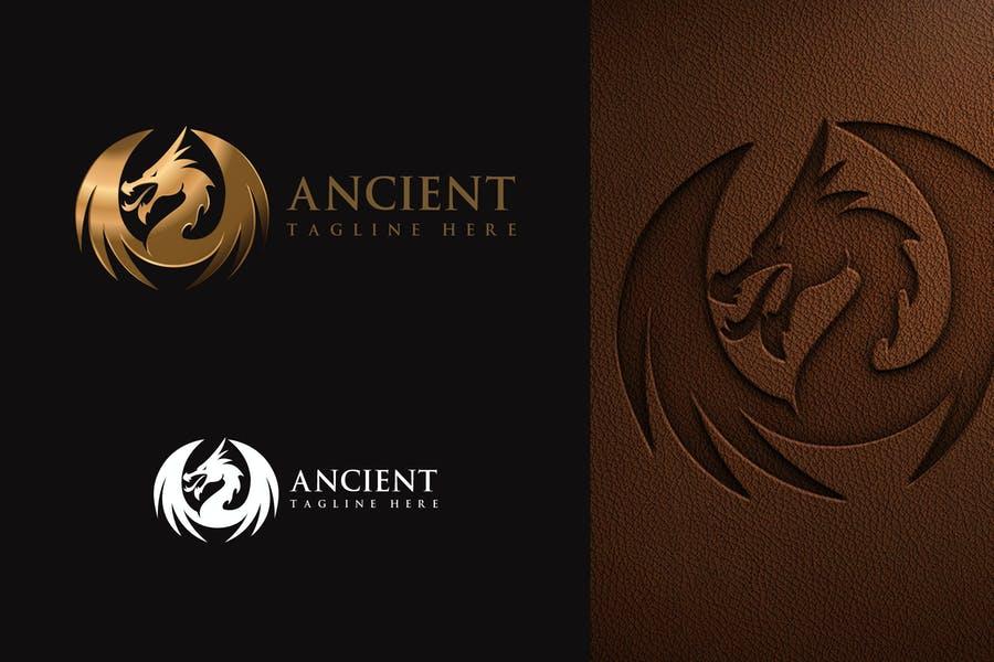 Gradient Dragon Logo