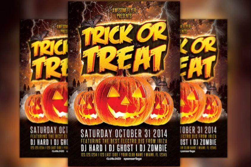 Halloween Flyer Design Template
